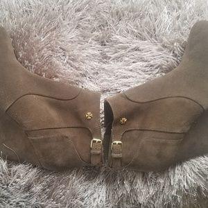 Tory Burch Shoes - Tory Burch Milan suede booties 10